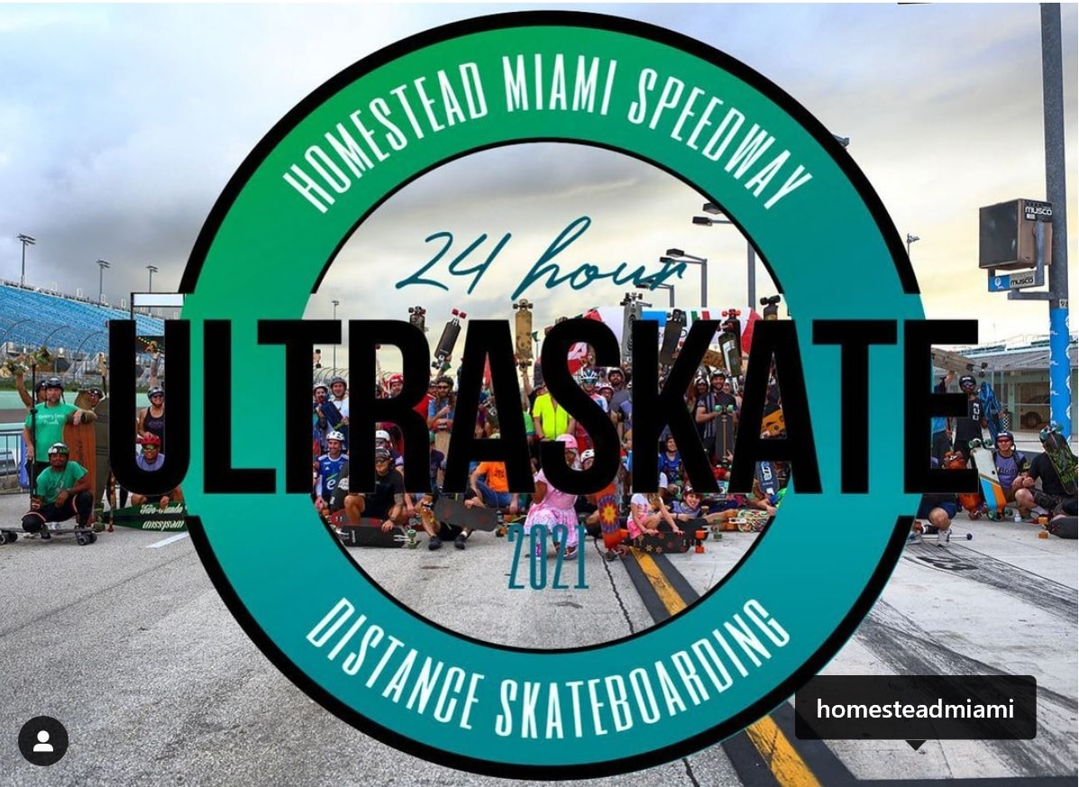 2021 ULTRASKATE AT HOMESTEAD – MIAMI SPEEDWAY